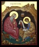 Saint apôtre Jean le Théologien et saint apôtre Prochore le Diacre