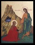 Maria Magdalena la picioarele lui Iisus