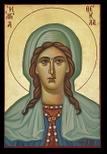 Sainte Thècle, Protomartyre et égale aux Apôtres - Αγία Θέκλα η ένδοξος, η Πρωτόαθλος και Πρωτομάρτυς