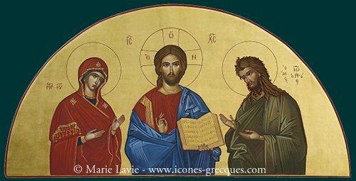 Déesis - Deisis - Jésus Christ